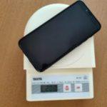 UMIDIGI A3Sの重さは208g