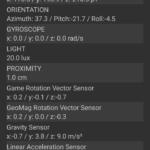 UMIDIGI A3Sに実装されているセンサー類
