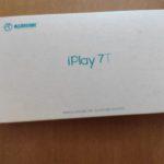 【レビュー】1万円未満で買えるタブレット。ALLDOCUBE iPlay 7Tを使ってみました