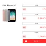 OCNモバイルONE スマホセットでiPhoneが1円~