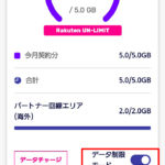【低速時・速度報告】楽天モバイル Rakuten UN-LIMITをパートナーエリアで制限状態にして使ってみました!
