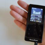 ライン入力録音にも対応、Newiy Start MP3プレーヤーを試してみました!